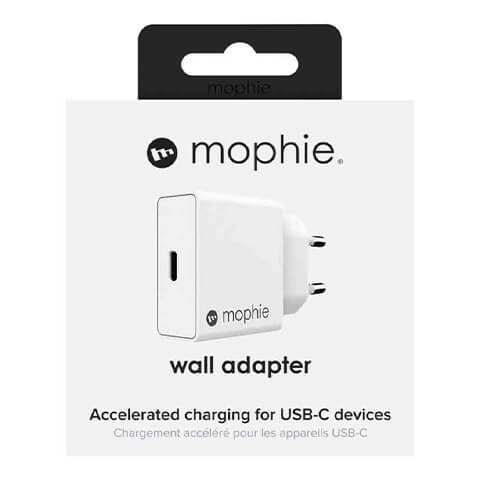 Sạc mophie PD 18W USB-C White - 409905680-1