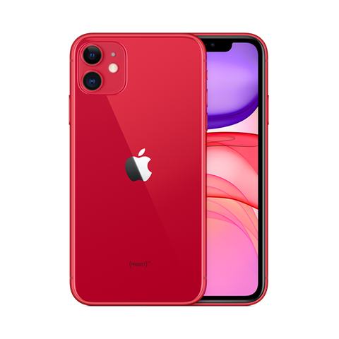 iPhone 11 64GB Red/Yellow/Purple